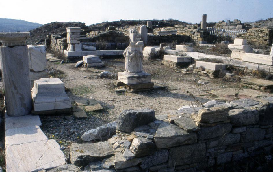 Delos Berytians Courtyard X from N