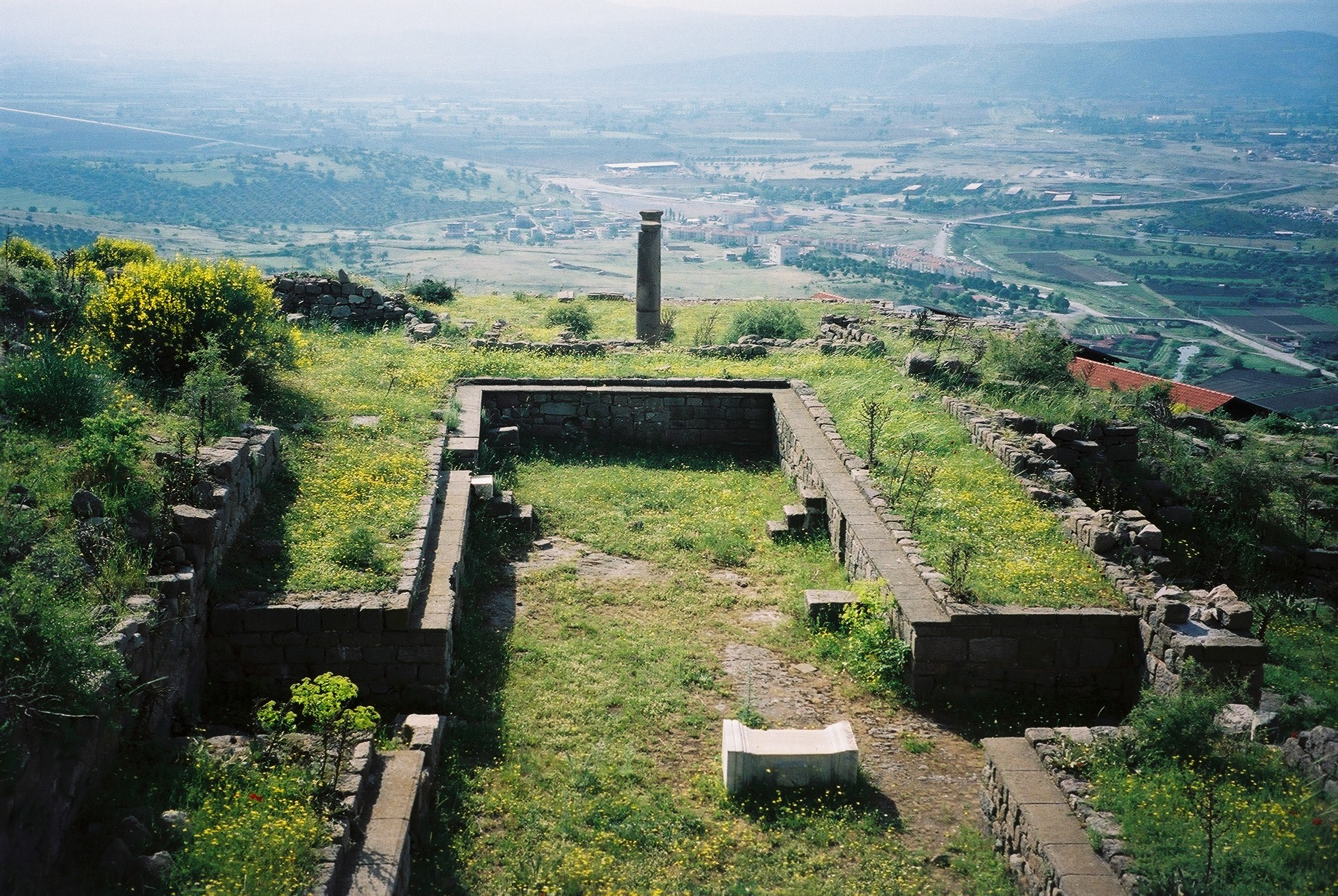 Meeting-place of the Dionysiac cowherds (at Pergamon)