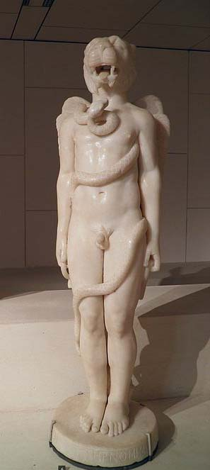 IMithras (IMithras) 78-79. Photo by Carole Raddato from Wikimedia Commons. Used under a Creative Commons license.