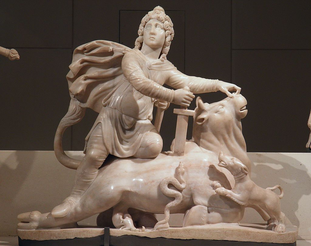 Mithras slaying the bull (from Sidon)