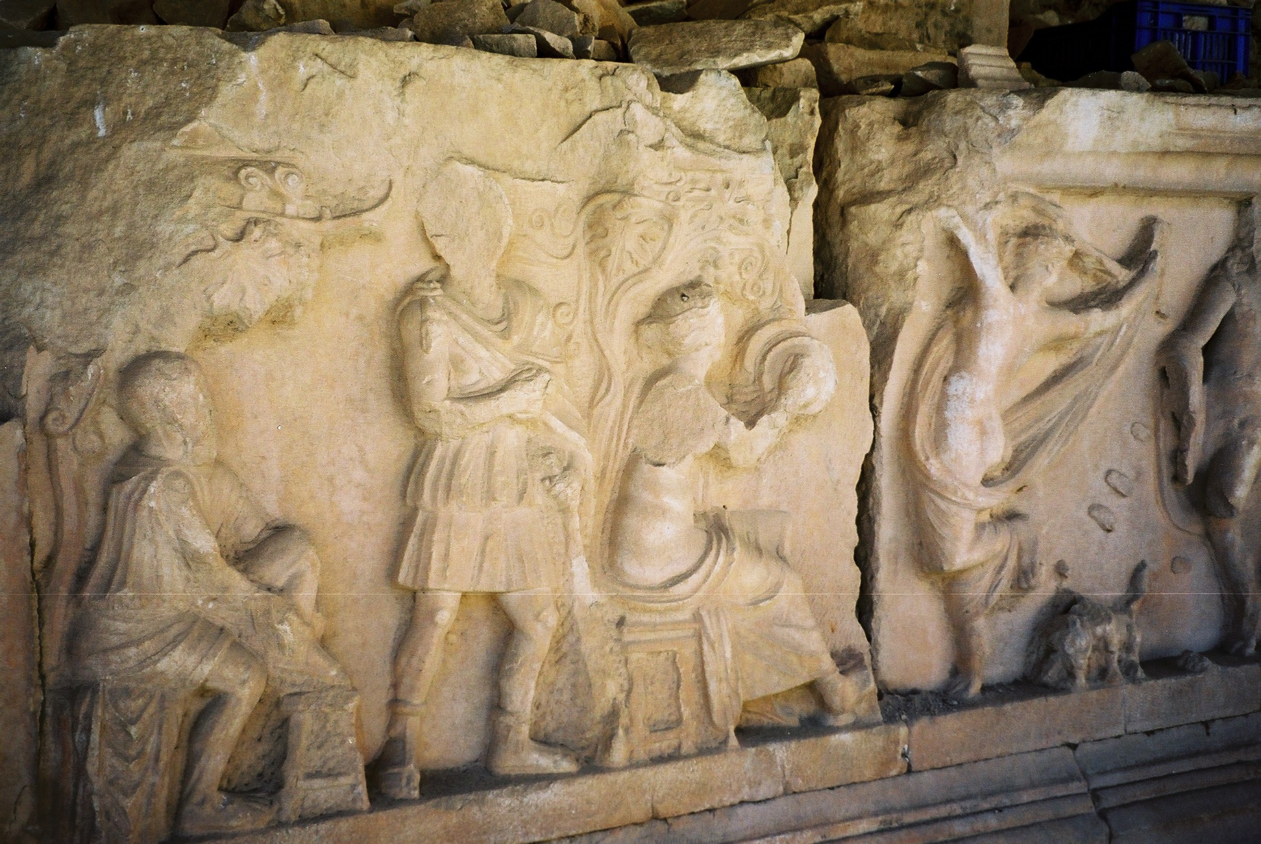 Maenads of Dionysos (from Nysa)